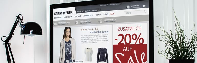 Gerry Weber | Digital B2B shop