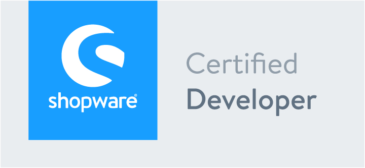 Zertifikat Shopware 5 | Certified Developer | hmmh