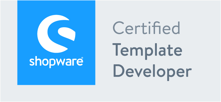 Zertifikat Shopware 5 | Certified Template Developer | hmmh