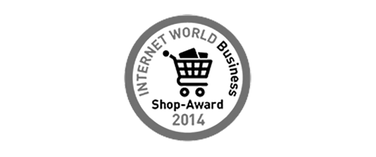 INTERNET WORLD Business Shop-Award 2014