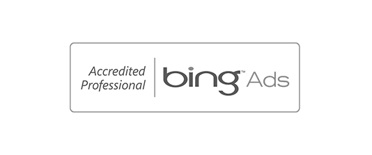 Certificate bing Ads Accredited Professional