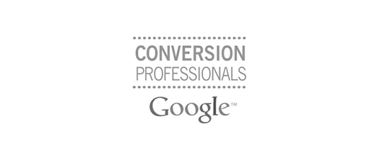 Certificate Google Conversion Professionals
