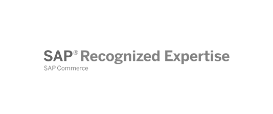 Zertifikat SAP Recognized Expertise for SAP Commerce